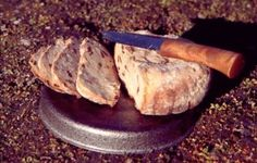cooking bread on a trangia