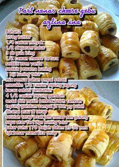 Resepi Cookies, Pineapple Tart, South African Recipes, Biscuit Recipe, Pretzel Bites, Cake Cookies, Hot Dog Buns, Fudge, Cookie Recipes
