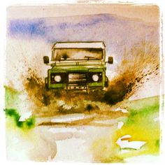 Land Rover Painting
