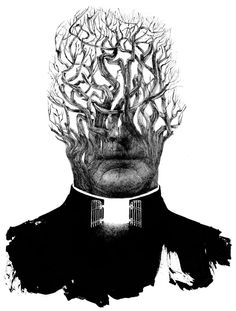 """The Priest That Preyed"" - illustration by Sam Weber - Notable Opinion Art of 2013 - Interactive Feature - NYTimes.com"