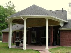 A covered patio offers many options for outdoor entertainment. Add extra chairs and a picnic table to host several friends for a birthday party, or keep it simple and romantic with a small bistro set for two. Whatever your reasons for building a patio cover, Texas Decks is here to help make that vision a reality.