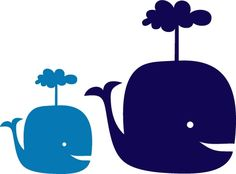 Baby Whales Wall Decals made by WALLTAT