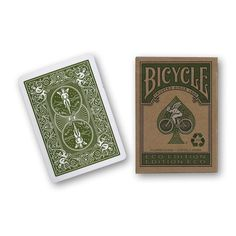 Bicycle Eco Edition Playing Cards - Boing Boing