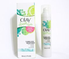 Review: Olay Fresh Effects Long Live Moisture Satin Finish Lotion
