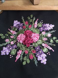 Image result for Ribbon Embroidery Patterns