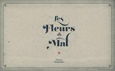 LIÁN TYPES »Reina« ❁ Les Fleurs du Mal Aged (for widescreen displays) by arnoKath, via Flickr