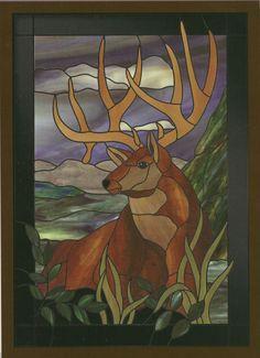 Glass Patterns Quarterly Magazine Winter 2014; Stained Glass Buck