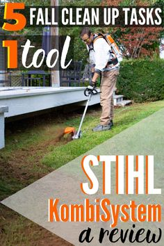 The STIHL KombiSystem is a battery-operated multi-function toolset that can tackle all your yard and garden needs in one set. Here's a review of how this new system performed with 5 different fall yard clean up tasks. #STIHL #Kombi #fallyardcleanup #fallgardening #falllawncare #yardcleanup #toolset #kombireview #STIHLreview