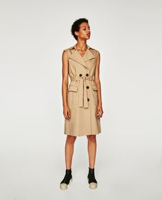 ZARA - COLLECTION AW/17 - DOUBLE BREASTED WAISTCOAT DRESS