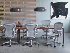 New Herman Miller Aeron Chair