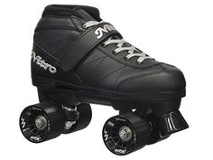 Epic Skates 2016 Epic Super Nitro J13 IndoorOutdoor Quad Speed Roller Skates Black -- Continue to the product at the image link. This is an Amazon Affiliate links.