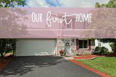 Our first house house tour, decor, decorate, renovate