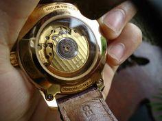 Mesin original omega Dipasang pd casing replika Sangat menyesatkan bagi yg Tidak paham