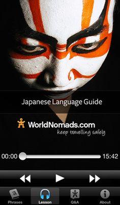 5. #world Nomads – #japonais - 7 meilleurs Apps pour #apprendre une langue pour vous #faire un citoyen du #monde... → Apps