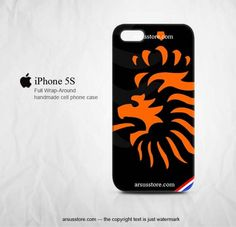 Netherlands Soccer Logo KNVB iPhone 5s Case | Dalmanaz - Accessories on ArtFire
