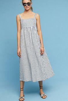 Patch Pocket Midi Dress