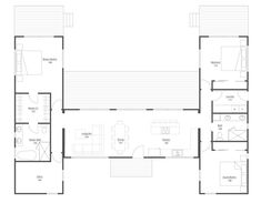 Hitch Haus Rolling Cabin Floorplan - I love the lay out, while not so much the price