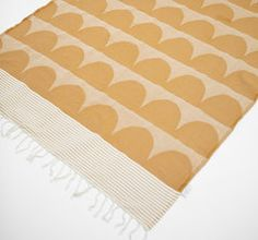 scallop blanket