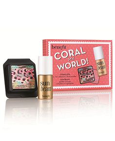Benefit coral my world makeup set - A Macy's Exclusive - Benefit Cosmetics Makeup - Beauty - Macy's