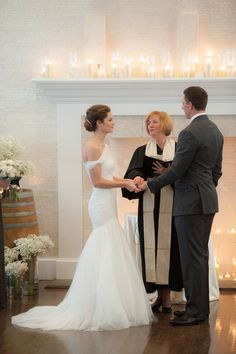 Marybeth Marshall, the officiant, is also the mother of the best friend of the bride.