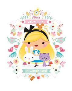 Alice au pays des me