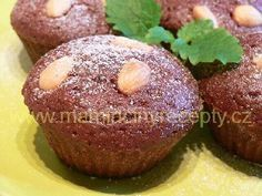 Muffiny s pudinkem Baked Potato, Muffins, Avocado, Food And Drink, Potatoes, Cookies, Fruit, Breakfast, Ethnic Recipes