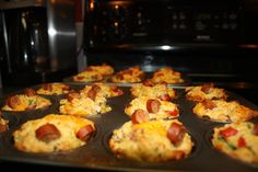 Easy Pizza Muffins