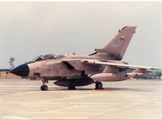 Tornados were the most prolific RAF aircraft used in the Gulf War . . .