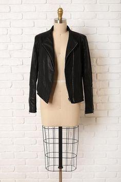 Flynn Vegan Leather Jacket
