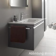 Laufen Pro S Waschtisch u. Waschtischunterschrank, 1 Schublade/Innenschublade wenge