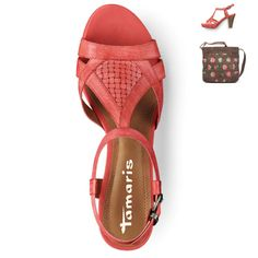 Tamaris, Coral - Soft Nappa/Leather Sandal