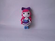 Items similar to Doll Pink Hair Girl Toy on Etsy Crochet Dolls, Crochet Hats, Stuffed Toy, Toys For Girls, Pink Hair, Girl Hairstyles, Pink Blue, Cinderella, Etsy Shop
