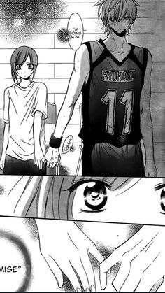 Read Namaikizakari Chapter 19 - From Mystic Iris: Upon first sight Machida Yuki knows that she doesn't want anything to do with Naruse Shou, but how can she keep her cool when he is a part of the basketball club she manages? Anime Couples Manga, Cute Anime Couples, Manga Anime, Manga Cute, Manga Boy, Naruse Shou, Namaikizakari, Anime Love Couple, Anime Kiss