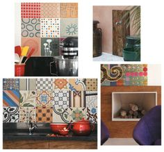 Em cada canto, há uma delicadeza: na cozinha, os azulejos da artista plástica Flávia Del Prá; na sala, a lareira com frontão de madeira de demolição; no quintal, a torneira sobre uma moldura de cruzetas (O Relicário); na parede da área da churrasqueira, os ladrilhos hidráulicos da Ladrilar.