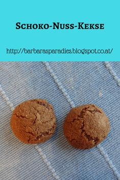Weihnachtskekse: Schoko-Nuss-Kekse Cake Cookies, Muffin, Breakfast, Desserts, Food, Ayurveda, Dreams, Baby, Dessert Ideas