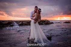 Sunset wedding on the beach in Hawaii photoshoot Sunset Wedding, Hawaii Wedding, Natural Light Photography, Fantasy Wedding, My Images, Portrait Photographers, Maternity, Glamour, Photoshoot
