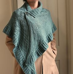 Ravelry: Hawkesbury Wrap pattern by Laura Aylor