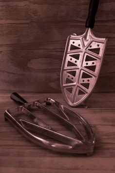 Trivet for di Daedaleum Iron, Vintage, Primitive, Steel