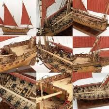 Image result for chebeck model ship rigging