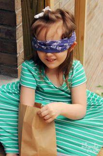 Five senses-touch game exploration bags