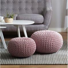 Home Loft Concepts Conrad Pouf Ottoman Upholstery Color: Pink