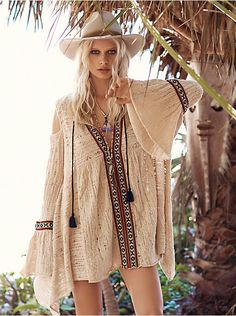 Free People For the Love of Flowers Tunic, $168.00