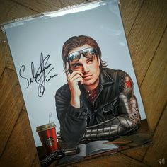Sebastian Stan Winter Solider amazing fan art