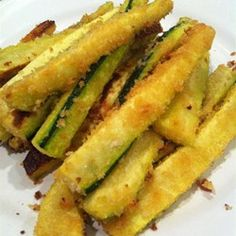 Oven Baked Zucchini Fries - Allrecipes.com Do not use seasoned salt and use TJ's bread crumbs