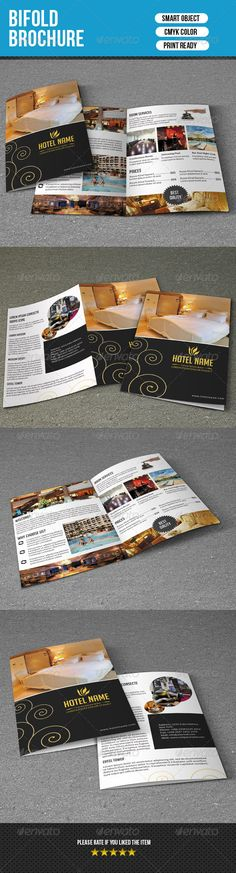 Hotel Trifold Brochure Template Download HttpGraphicriverNet
