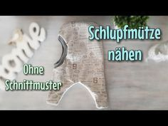 Schlupfmütze nähen - OHNE Schnittmuster - TINA - YouTube