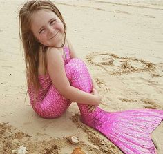 Mermaid life is the BEST life! Fin Fun Mermaid Tails make swimmable mermaid tails for kids and adults. Our Malibu Pink Mermaid Tail is a popular must have this summer.