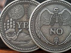 Coin-Antique Silver Oracle Coin
