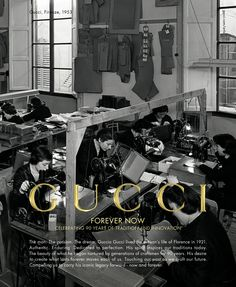 """Gucci """"Forever Now"""" Advertising Campaign"""