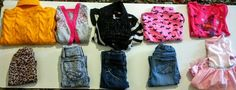Excellent Condition Toddler girl sz 3t Childrens Place, Dollhouse,  clothing Lot…